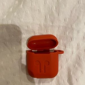 Red AirPods case